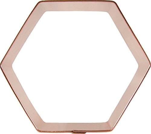 CopperGifts: Hexagon Cookie Cutter - 3 inch