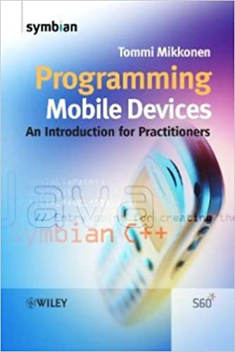 Book Programming Mobile Devices: An Introduction for Practitioners