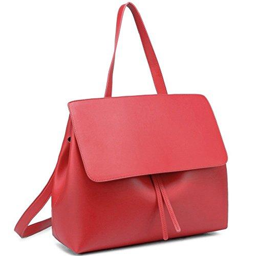 Lady Lady Bag Bolso De Moda Bolso Mensajero De Hombro Red