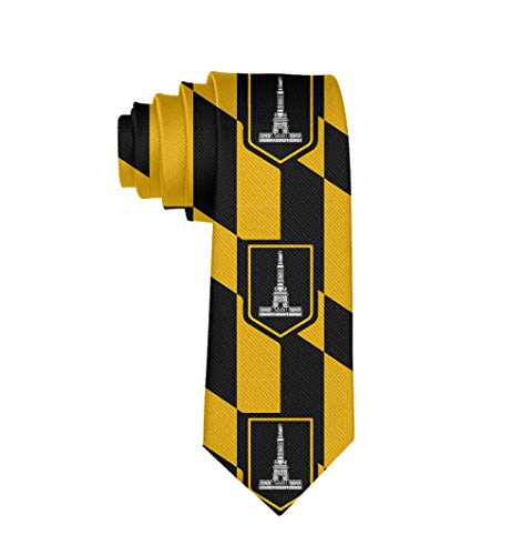 Men Novelty Neckties Suit Accessories - Baltimore Maryland USA Flag Tie for Weeding Prom Reception, Party]()