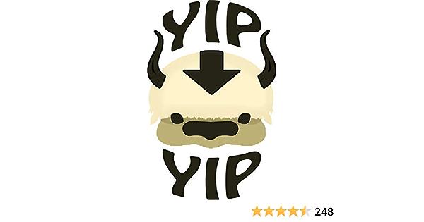 YIP YIP Appa 5 Sticker for Cars Windows Notebooks Lockers Etc Printed Decal Sticker