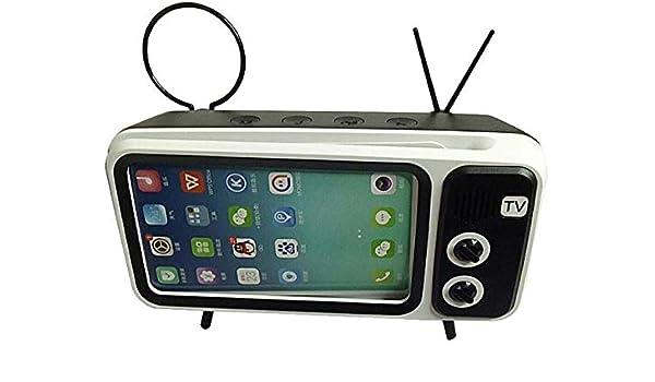 Altavoz Bluetooth TV Retro, 8 Horas De Reproducción La Señal ...