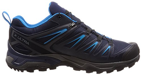Salomon X Ultra 3 GTX, Scarpe da Arrampicata Basse Uomo Grigio (Graphite/Night Sky/Hawaiian Surf 000)