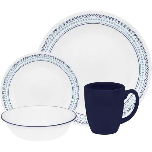 corelle dinnerware set stitch - 4