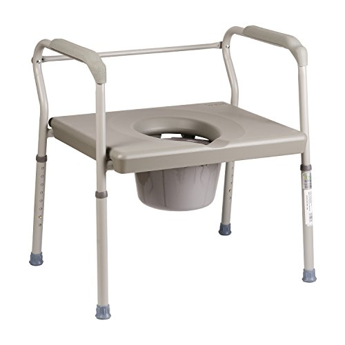 Duro-Med-Portable-Toilet-Bedside-Commode-Chair-Heavy-Duty-Steel-Commode-Toilet-Chair-Toilet-Safety-Frame-Medical-Commode