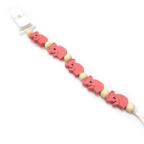 Eliky Baby Comfort - Cadena para chupete con perlas, color ...