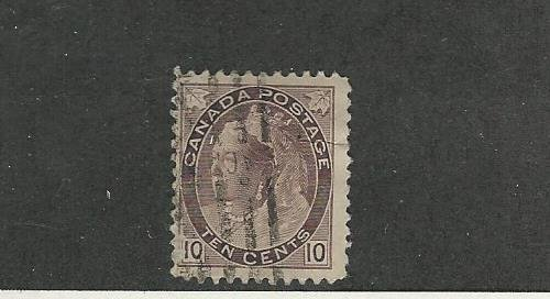 Canada, Postage Stamp, 83 Fine Used, 1898 Queen Victoria