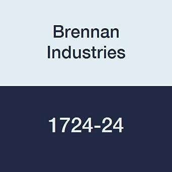 Code 61 1-1//2 Flange x 1-1//2 Flange 1-1//2 Flange x 1-1//2 Flange Inc. Brennan Industries 1724-24 Steel Flange Plug