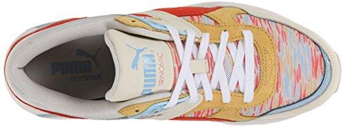Puma Femmes Sneaker Côtier R698 Blanc / Snapdragon
