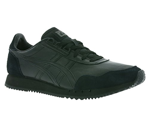 sneaker black 9090 D6L1L Real Onitsuka asics Dualio leather Tiger 6nXWfx