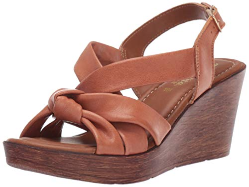 Bella Vita Women's Wes-Italy Slingback Sandal Shoe, Whiskey Italian Leather, 8.5 M US from Bella Vita