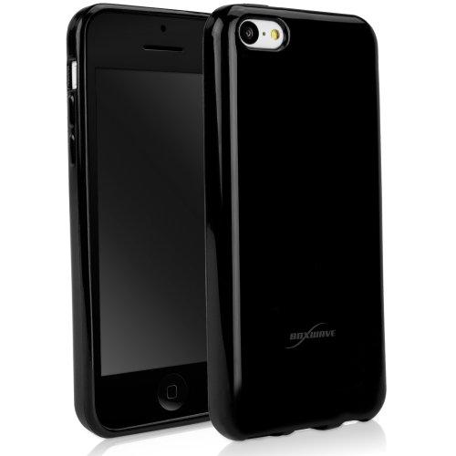 BoxWave Tuxedo suitup Apple iPhone 5C Fall–Hohe Qualität Schwarz glänzend TPU Gel Haut Case, perfekt geformt für das Apple iPhone 5C–Apple iPhone 5C Hüllen und Abdeckungen