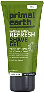 Primal Earth Refresh Shave Gel, 140ml