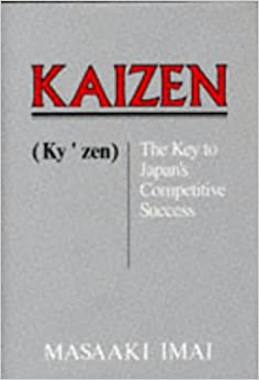 Kaizen : The key to Japan's competitive success