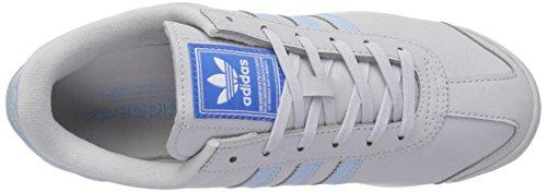 adidas Sneaker Solid Women's White Blue W Samoa Originals Grey Lgh Easy rPZfq4rWw