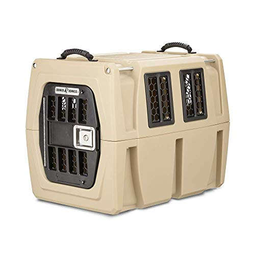 Best plastic dog kennel - Gunner Kennels G1 Medium Dog Crate   Crash Tested Pet Travel Crate, Escape Proof, Heavy Duty Dog Box   Dog Kennel Fits Small and Medium Breed Dogs