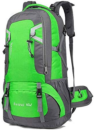 BAJIMI アウトドアハイキングキャンプ旅行オックスフォードマルチスポーツパックユニセックスバッグ/グリーン/ 40L用防水バックパック