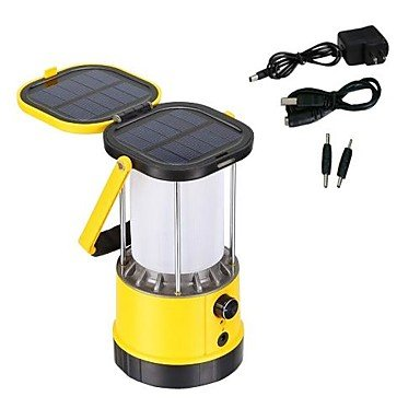 zhou you LED Solar Power Camping Lantern Bright Lights Lamp Mobile Phone Charger