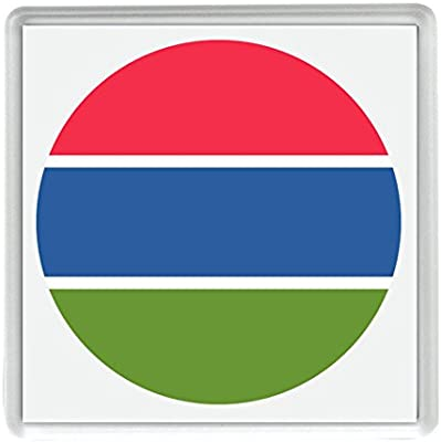 IamEngland Marca para Gambia Emoji 58mm x 58mm Nevera imán/Flag ...