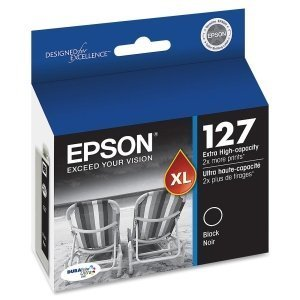 Epson DURABrite 2-Pack T127120 Ultra 127 Black Extra High-ca