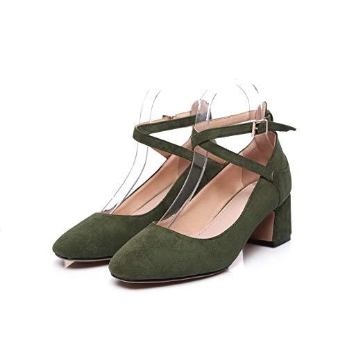 Femme Sandales SDC05961 AdeeSu Compensées Green wt4gFq