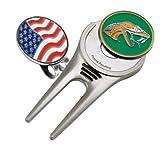 Florida A&M Single Sided Golf Ball Marker w/ Divot Tool