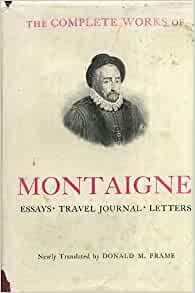 montaigne essays amazon