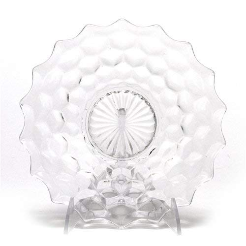 American by Fostoria, Glass Salad Plate, Clear