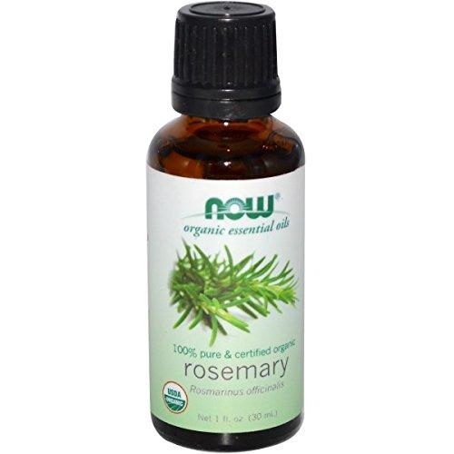NOW Foods Rosemary Oil Certified Organic 1 fl oz (30 ml) Liquid