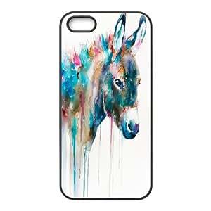 Donkey iPhone 5,5S Phone Case, Donkey Personalized Hard Back Cover, iPhone 5,5S Customized Case
