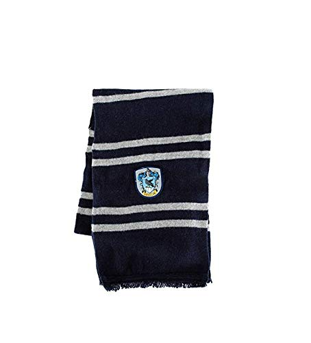 elope Harry Potter Officially Licensed Lamb's Wool Hogwarts House Scarf - Ravenclaw]()
