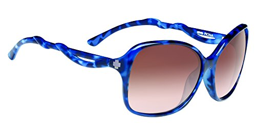 Spy Fiona Sunglasses, Blue/Tort/Happy Bronze Fade, 61 mm