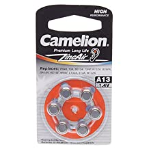 Purchase Camelion Button Battery A13