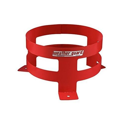 9885-7-01 Weather Guard Red Zone Floor Mount 5 Gallon Bucket Holder 5 Gallon Bucket Holder