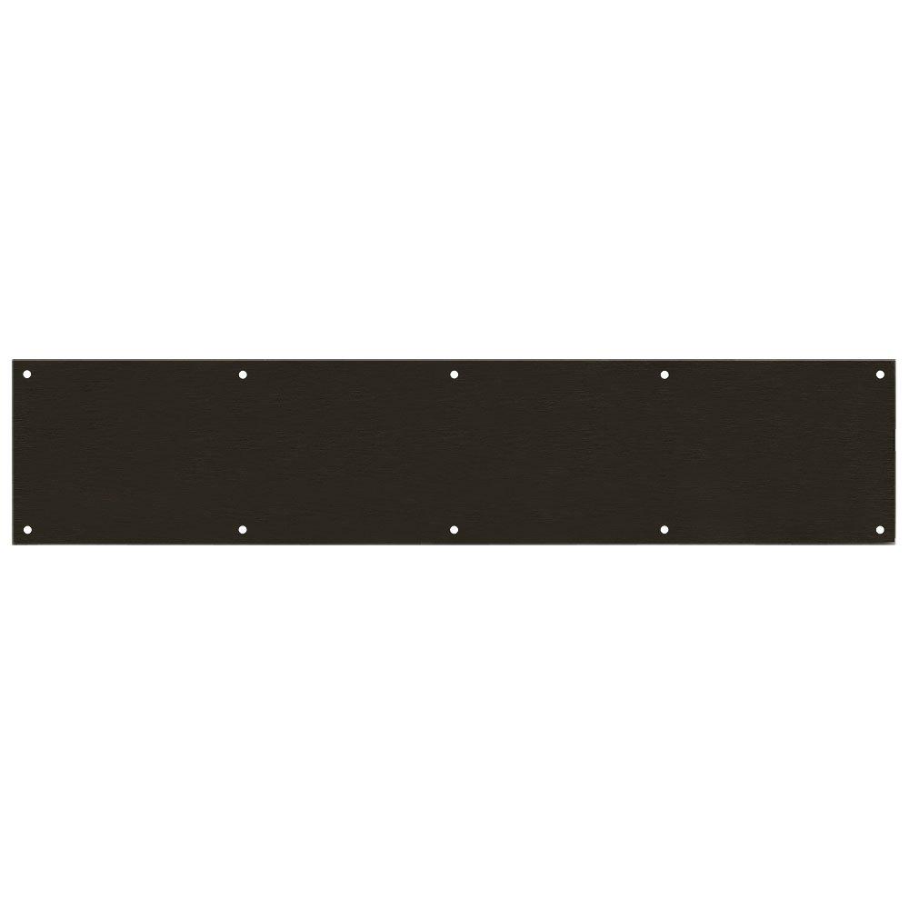 Designers Impressions Oil Rubbed Bronze 6'' x 30'' Kick Plate: 609377