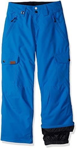 (Quiksilver Big Boys' Porter Youth Snow Ski Pant, Daphne Blue, 8/S)