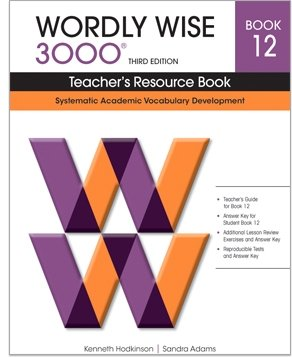 12: Wordly Wise by Educators Publishing Service