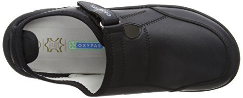 Oxypas Unisex-Adult Miranda Clogs Black 4 UK, 38 EU negro - 217
