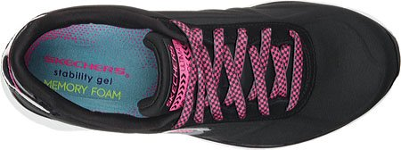 Skechers Womens Soleus-The Truth Black/White Fq8bt3E
