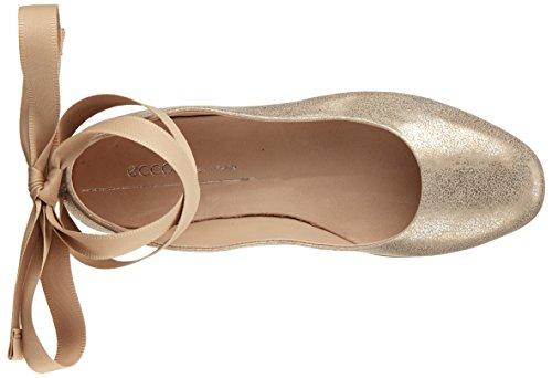 Incise Kvinners Ecco Rock Ballett Sølv 2459 Leiligheter moon FRWWgvwq