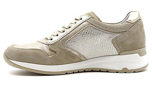 Nero Sport Sneaker de Giardini 5054 Ivoire Cuir 702 P805054D Beige en Chaussures rwtrq0