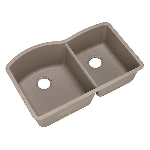 (Blanco 441284 Diamond 1-3/4 Bowl Silgranit II Sink, Truffle)
