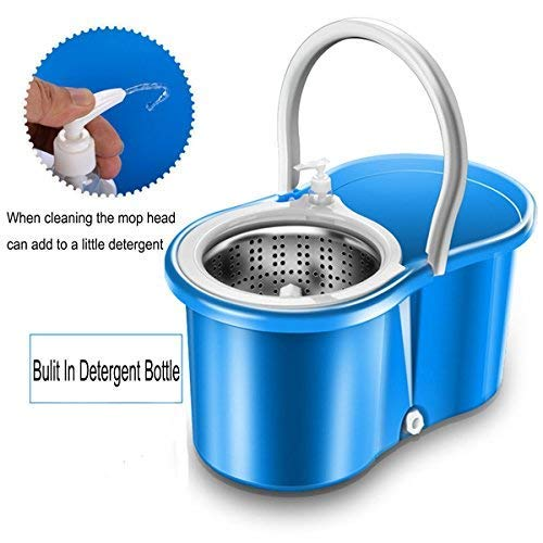 easy wring microfiber spin mop