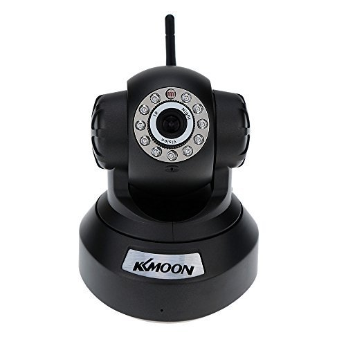KKMOON 720P HD H.264 1MP Camera PnP P2P AP Pan Tilt IR Cut WiFi Wireless Network IP Webcam Vision Surveillance Camera by KKmoon
