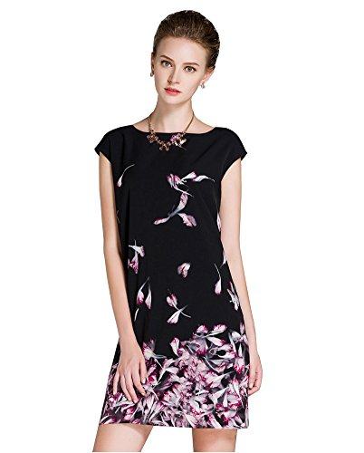 Floral Print Silk Shell : - 9