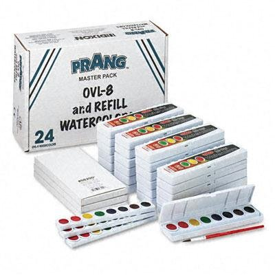 Prang - Professional Watercolors 8 Assorted Colorsmasterpack 36/Set ''Product Category: Crafts & Recreation Room Products/Arts & Crafts Supplies''