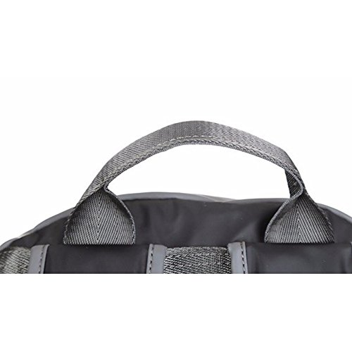 Blackandgray Dhfud Casual Fashion Shoulder Men's Computer Bag Oxford xwqwpPnSA