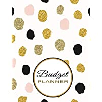 Budget Planner: Budget and Expense Tracker - Daily, Weekly & Monthly Finance Organizer | Simple and Undated for Ease of Use - Golden Dots