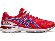ASICS Men's GT-2000 8 Running Shoes, 13M, Classic RED/Electric Blue