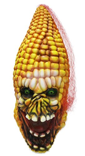 Halloween Mask Evil Corn Sourcingbay Scary Latex Zombie Cob Face Mask for (31 Days Of Halloween Makeup)